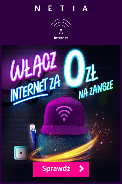Najlepszy internet w Polsce za darmo